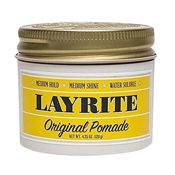 Layrite Deluxe | Original Pomade | Men's Hair Gel Pomade