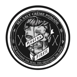 Modern Pirate / Sea Salt Crème Hair Pomade / 95ml 3.2oz.