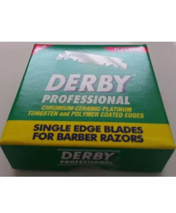 Derby Professional Single Edge Razor Blades 5000 Pack (1 Box) - Barbersupplies & Co