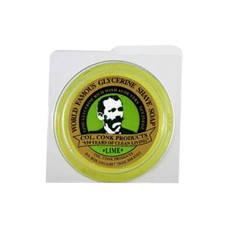 Col. Conk Glycerine Shave Soap Lime 66ml