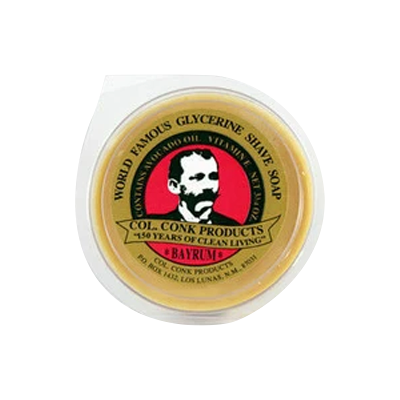 Col. Conk Glycerin Shave Soap | Bay-Rum 66ml