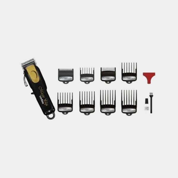 Wahl Professional Cordless 5 Star Magic Clip Clipper (Black & Gold)