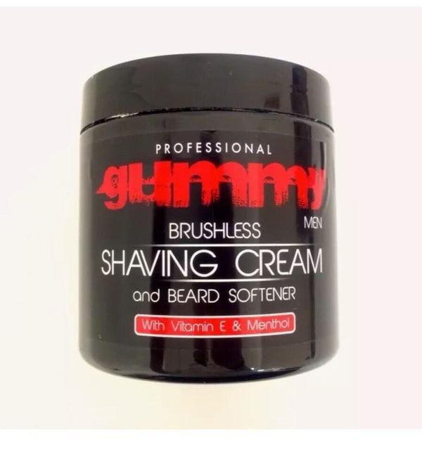 Gummy Professional Brushless Shaving Cream & Beard Softener 500ml. - Barbersupplies & Co