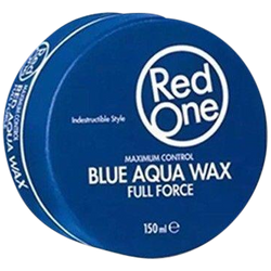 4 X RedOne Full Force Hair Wax in Blue, Orange, Red and Green - Barbersupplies & Co