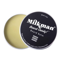 Milkman Sandalwood Scent. Beard Candy Beard Balm 60mL,