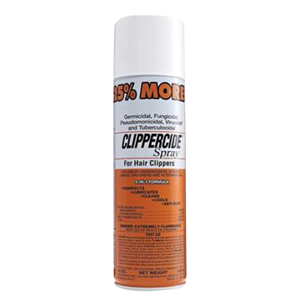 Clippercide Spray for Hair Clippers 5-in-1 Formula 425g in 2X or 4X