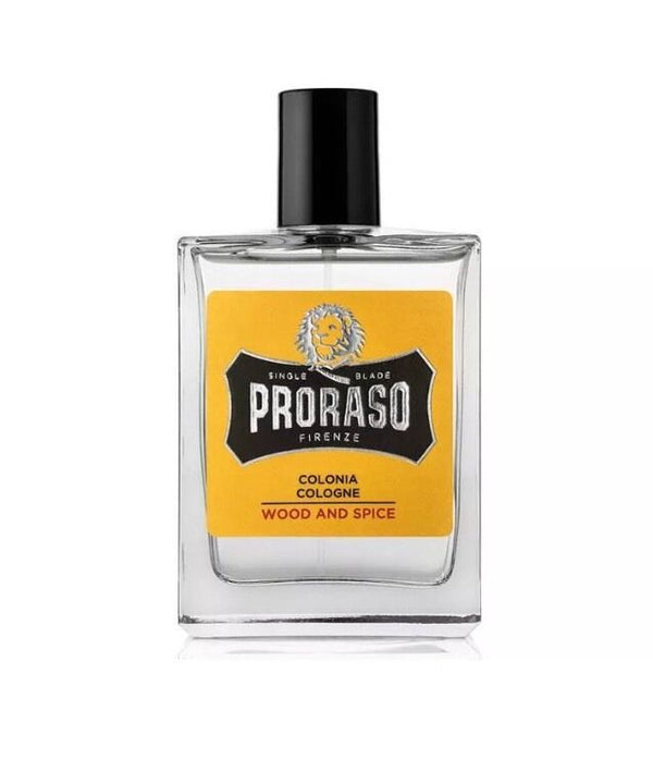 New!! Proraso Cologne Natural Spray Wood & Spice 100ml - Barbersupplies & Co