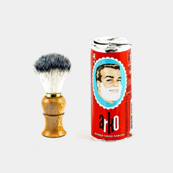 Arko Shaving Soap Stick 75gr. Keen Razors Synthetic Large Shaving Brush