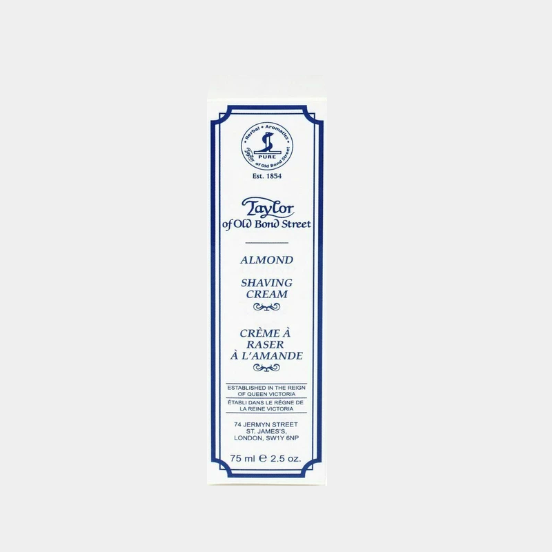 Taylor of Old Bond Street | Almond Shaving Cream Tube 75ml