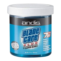 ANDIS 7in1 CLIPPER BLADE CARE DIP/WASH 16 oz. dip jar