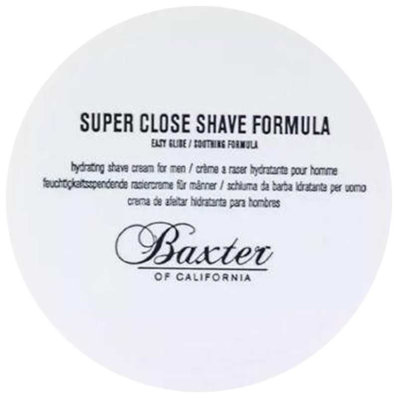 Baxter Of California Super Close Shave Formula (Jar) 240ml Men's Skin Care - Barbersupplies & Co