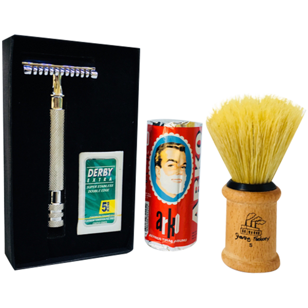 Beginners Shaving Set - Barbersupplies & Co