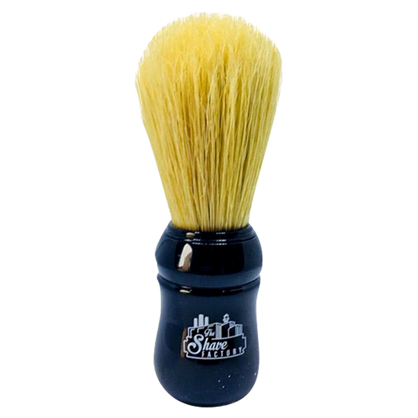 Boar Bristle Shaving Brush in Red/Black handle - Barbersupplies & Co