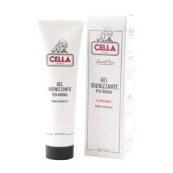 Cella Gel Sanitizing For Beard 150 ml with Panthenol no Shampoo Clean Treatment