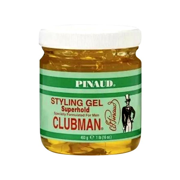 Clubman Super Hold Styling Gel 453gr