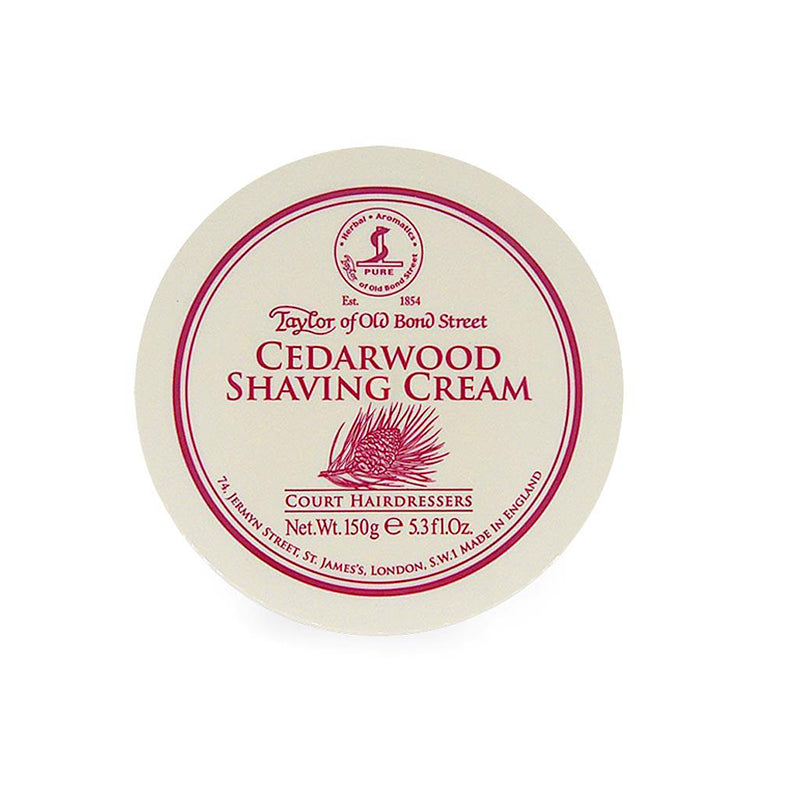 Taylor of Old Bond Street Shaving Cream Bowl 150g in 6 Different Scents - Barbersupplies & Co