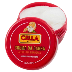 Cella Shaving Soap with Almond 150ml - Barbersupplies & Co