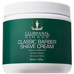 Clubman Pinaud Classic Barber Shave Cream 453ml (16 fl.oz) - Barbersupplies & Co