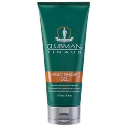 Clubman Pinaud Head Shave Gel 177 ml. - Barbersupplies & Co