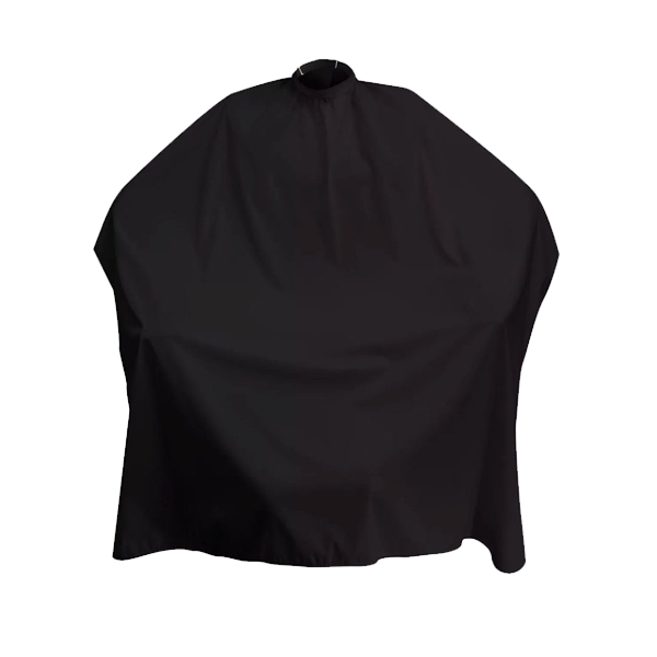 Dincer Hair Cutting Cape Plain Black