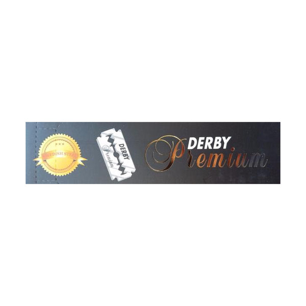 Derby Premium Double Edge Razor Blades - Barbersupplies & Co