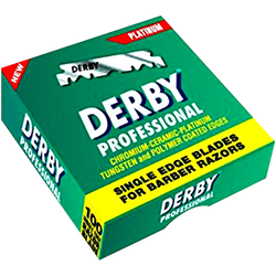 Derby Professional Single Edge Razor Blades - Barbersupplies & Co