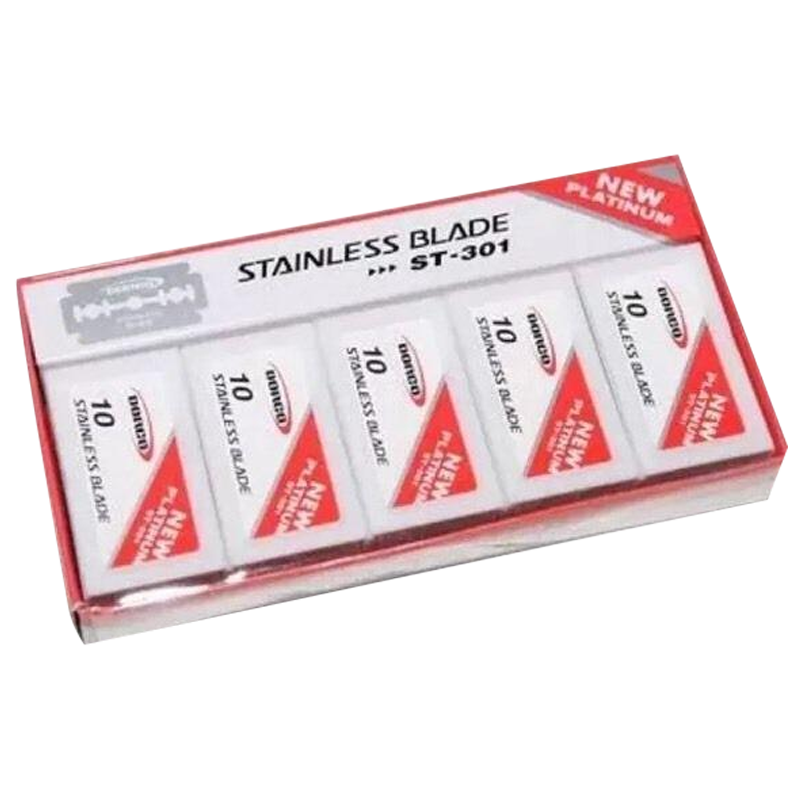 Dorco ST301 Platinum Double Edge Razor Blades - Barbersupplies & Co
