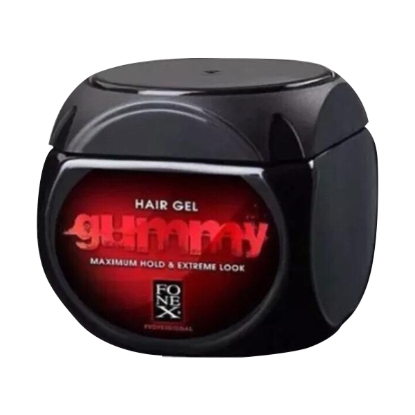 Fonex Gummy Regular Hair Gel Alcohol Free Maximum Hold & Extreme Look 220ml