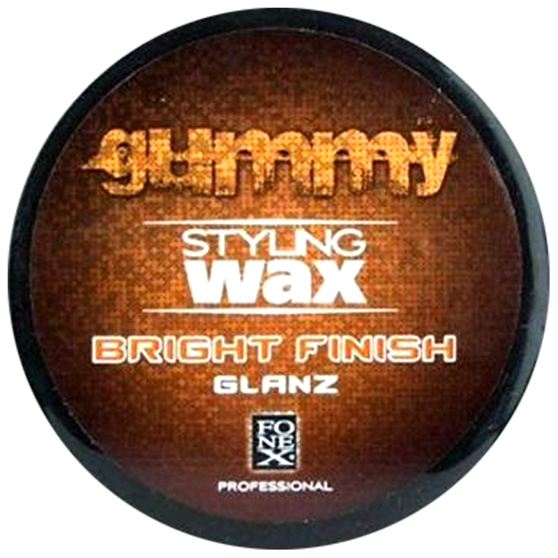 Fonex Gummy Bright Finish Glanz  Water Based Super Wax - Barbersupplies & Co