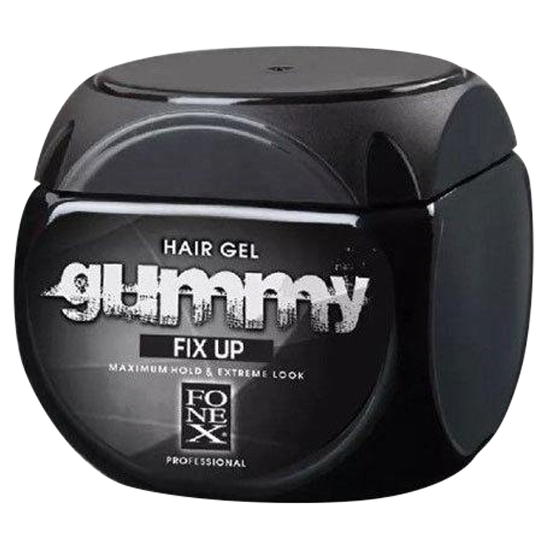 Fonex Gummy Fix Up Hair Gel 500ml - Barbersupplies & Co