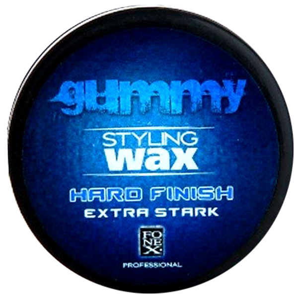 Fonex Gummy Hard Finish Extra Stark Hair Wax 150ml - Barbersupplies & Co