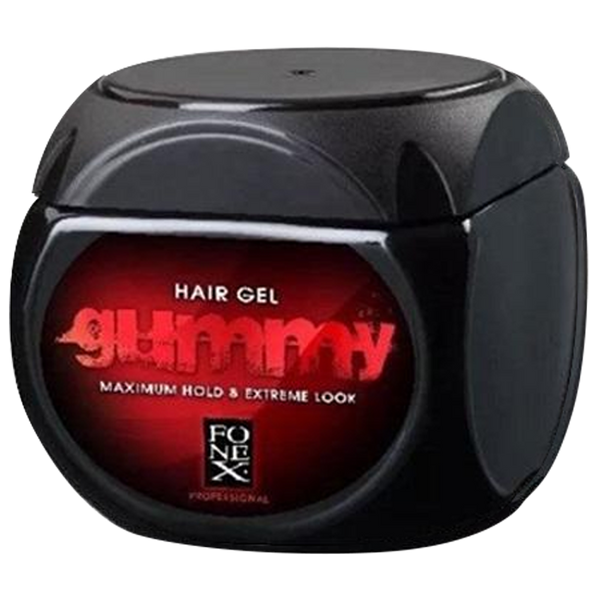 Fonex Gummy Maximum Hold Hair Gel 500ml - Barbersupplies & Co