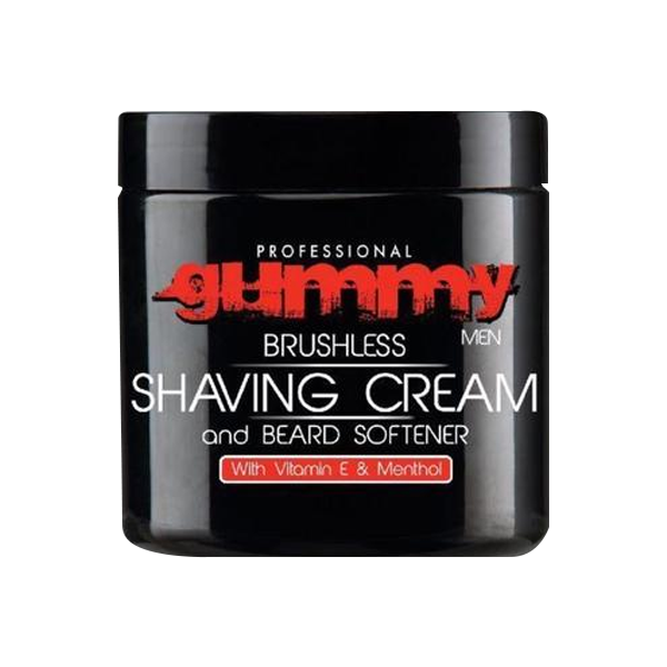 Gummy Professional Brushless Shaving Cream & Beard Softener 500ml.