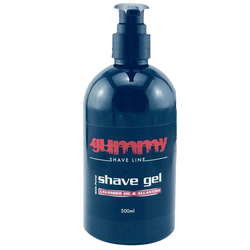 Gummy Professional Shave Line Barber Shave Gel 500ml. - Barbersupplies & Co