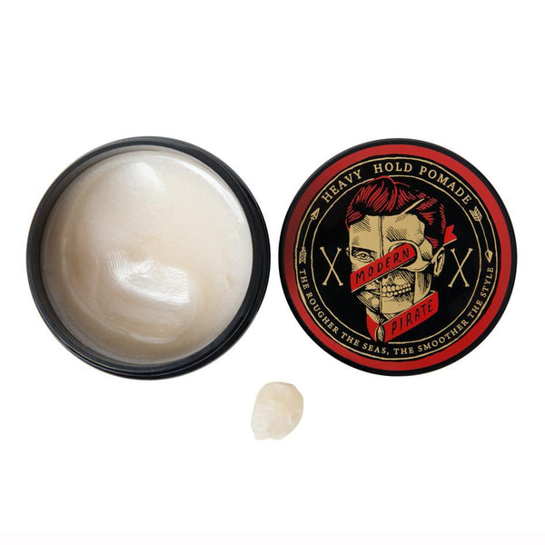 Modern Pirate / Heavy Hold Pomade / Mens Hair Product / 100ml