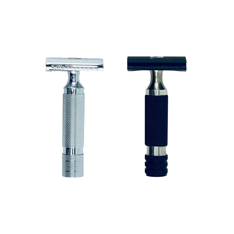 Keen Traditional Double Edge Open Comb Short Handle Safety Razor - Barbersupplies & Co