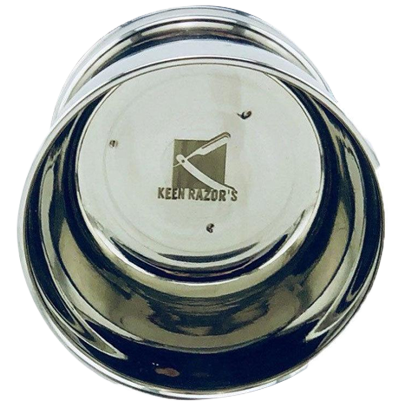 Keen Razors Stainless Steel Shaving Mug - Barbersupplies & Co