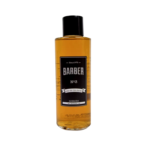 Marmara Barber Eau De Cologne / After Shave Lotion No:3 Glass Bottle 500ml