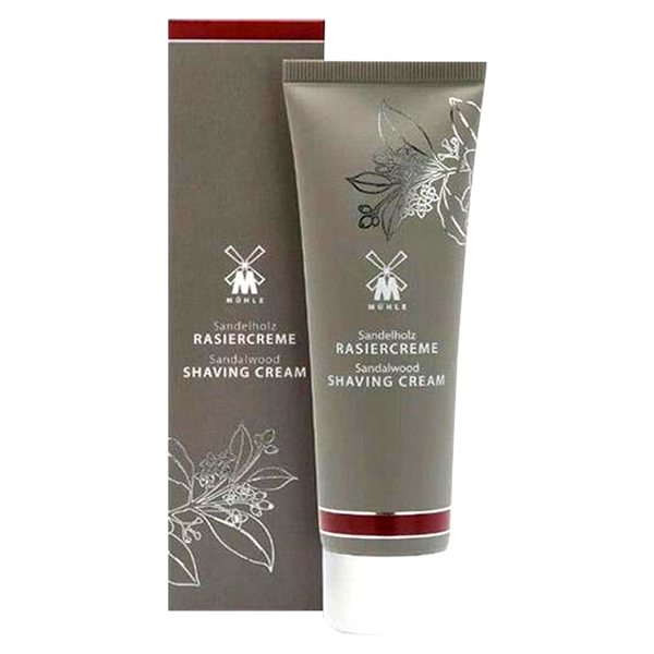 Muhle Shaving Cream 75ml in Sandalwood, Sea Buckthorn or Aloe Vera - Barbersupplies & Co