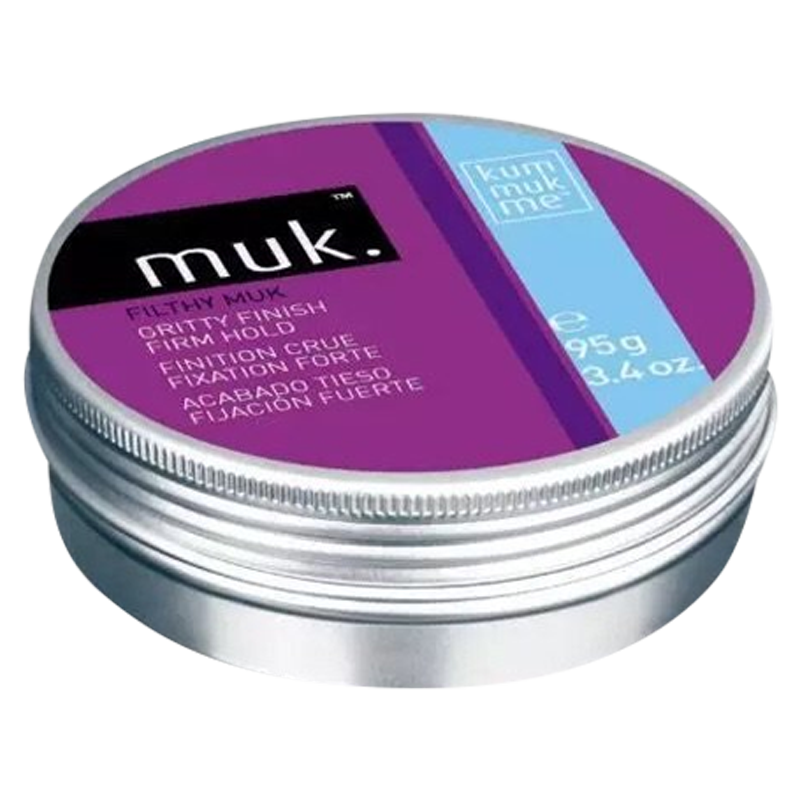 Filthy Muk Styling Mud 95gm x 2 Full Size Genuine Muk - Barbersupplies & Co