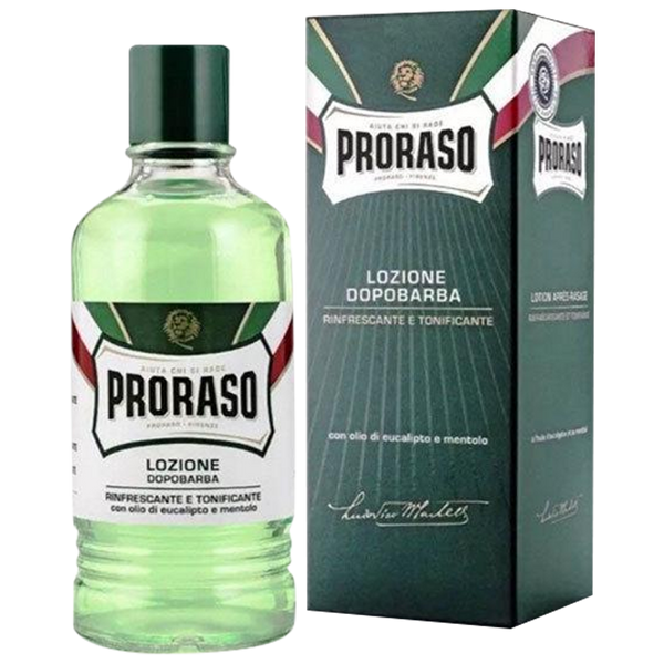 New Proraso After Shave Lotion 400ml Eucalyptus Refreshing & Toning - Barbersupplies & Co