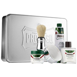 New Proraso Silver Shave Gift Box  Proraso Silver Gift Set - Barbersupplies & Co