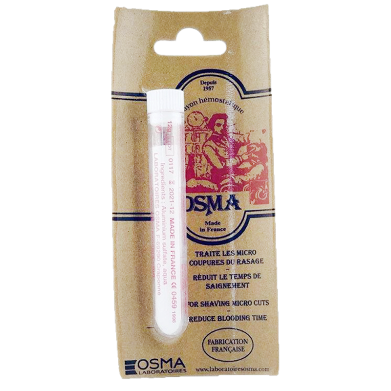 Osma Hemo Stop Styptic Pencil / Stops Bleeding Fast - Barbersupplies & Co