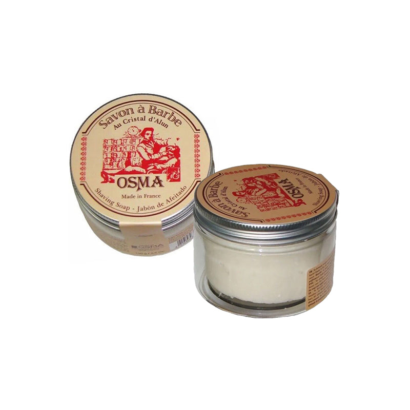 Osma Shaving Soap with Alum 100grams or Tradition Pre - Shaving Soap 130grams - Barbersupplies & Co