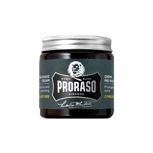 Proraso Single Blade Cypres & Vetyver Pre-Shave Cream 100ml