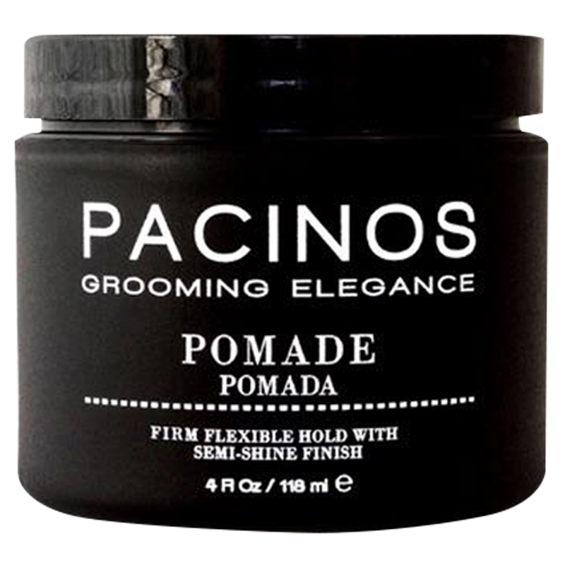Pacinos Hair Grooming Pomade For Firm Flexible Hold / Semi Shine Finish 118ml. - Barbersupplies & Co