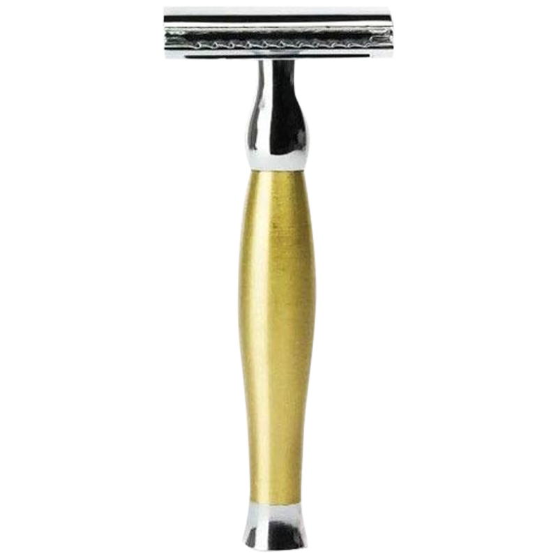 Parker 48R Gold Tone Heavyweight Double Edge Safety Razor - Barbersupplies & Co