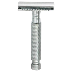 Parker 97r Nickel Plated Heavyweight Safety Razor - Barbersupplies & Co