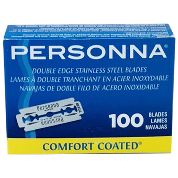Personna Stainless Steel Double Edge Razor Blades - Barbersupplies & Co