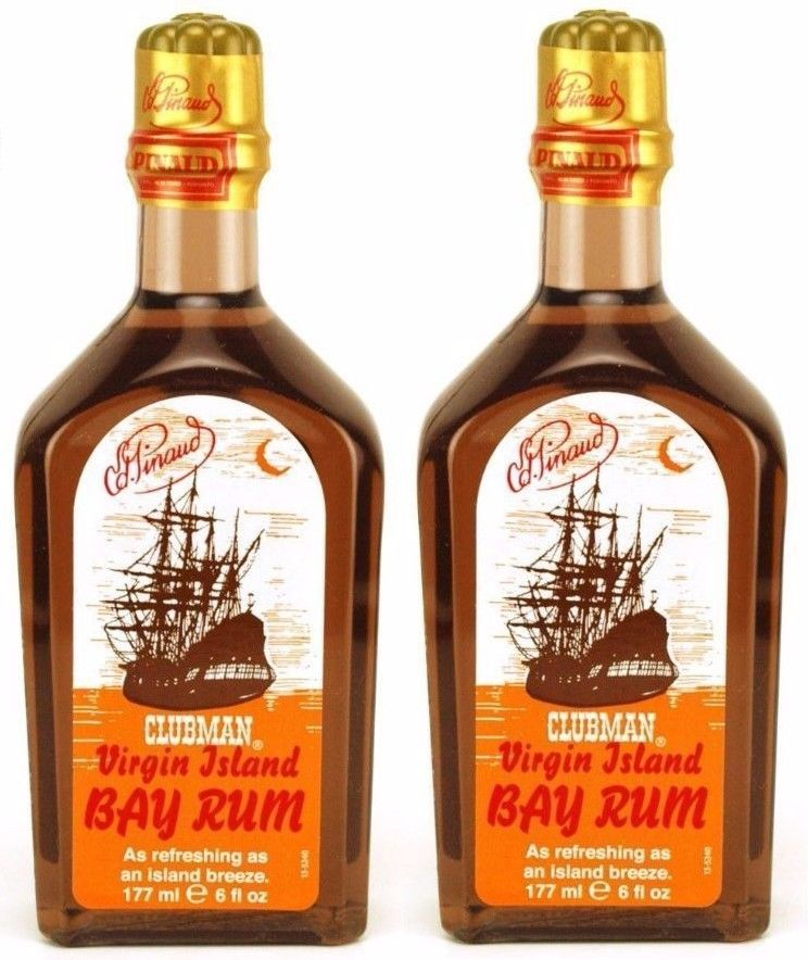 Clubman Pinaud Virgin Island Bay Rum 177ml or 355ml - Barbersupplies & Co